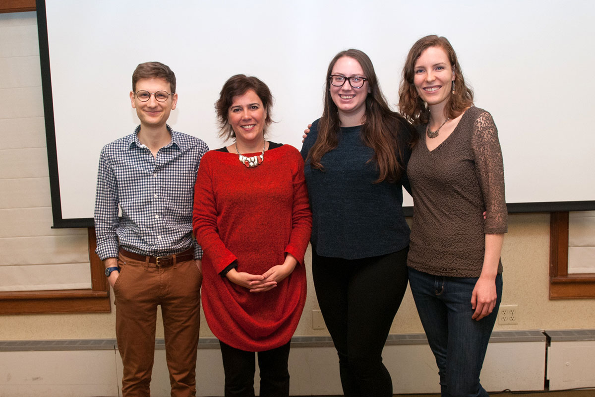 GSK students with retreat keynote speaker Dr. Carla Rothlin