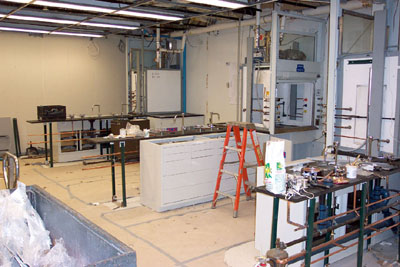 Lab Renovations, diversity oriented synthesis, rational drug design, and chemical biology research