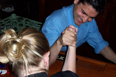 Armwrestling, diversity oriented synthesis, rational drug design, and chemical biology research