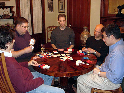 Poker, diversity oriented synthesis, rational drug design, and chemical biology research