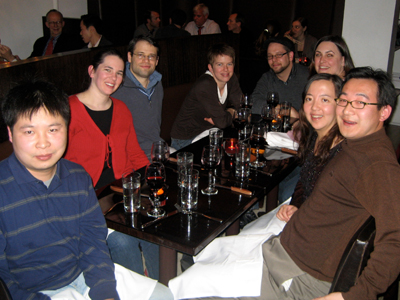 Tan Group Holiday Party 2007, diversity oriented synthesis, rational drug design, and chemical biology research