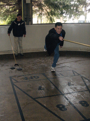 Shuffleboard, diversity oriented synthesis, rational drug design, and chemical biology research