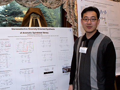 Guodong Liu, diversity oriented synthesis, rational drug design, and chemical biology research