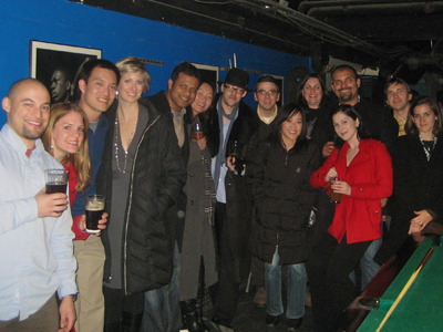 Tan Lab Holiday Party 2010, diversity oriented synthesis, rational drug design, and chemical biology research