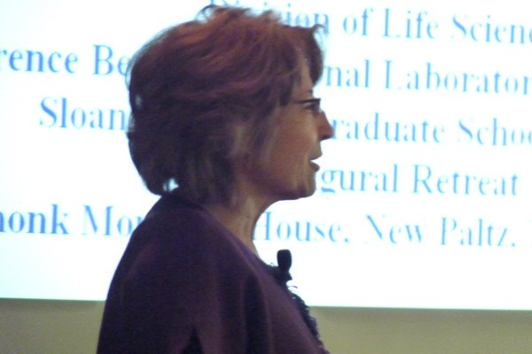 Keynote speaker Mina Bissell presented Genes and the microenvironment: The two faces of breast cancer.