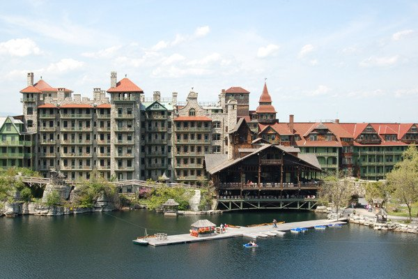 Site of the inaugural retreat, Mohonk Mountain House in New Paltz, NY.