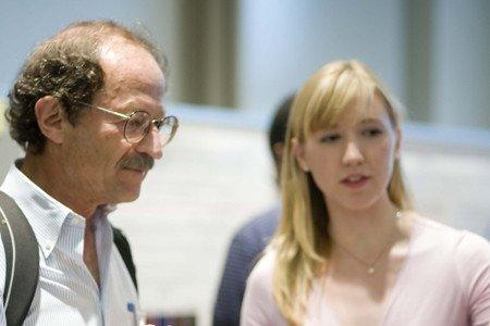 Memorial Sloan Kettering Cancer Center and Gerstner Sloan Kettering President Harold Varmus (left) and Student Julia Gerard