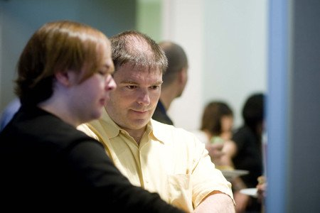 Matthew Lord (left) and his Faculty Mentor Derek Sant'Angelo