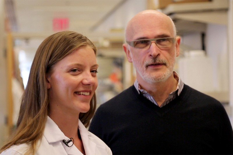 Watch third-year GSK student Kasia Konopacki discuss her research and training with her mentor, immunologist Alexander (Sasha) Rudensky.