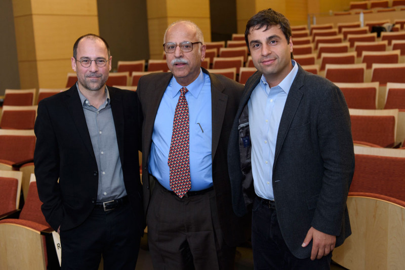Christopher Lima, Dinshaw Patel, and Hashim Al-Hashimi