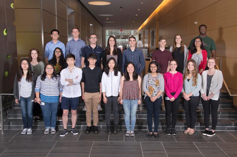 The 2017 Summer Undergraduate Research Program class.