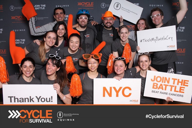 Cycle for Survival,  2017