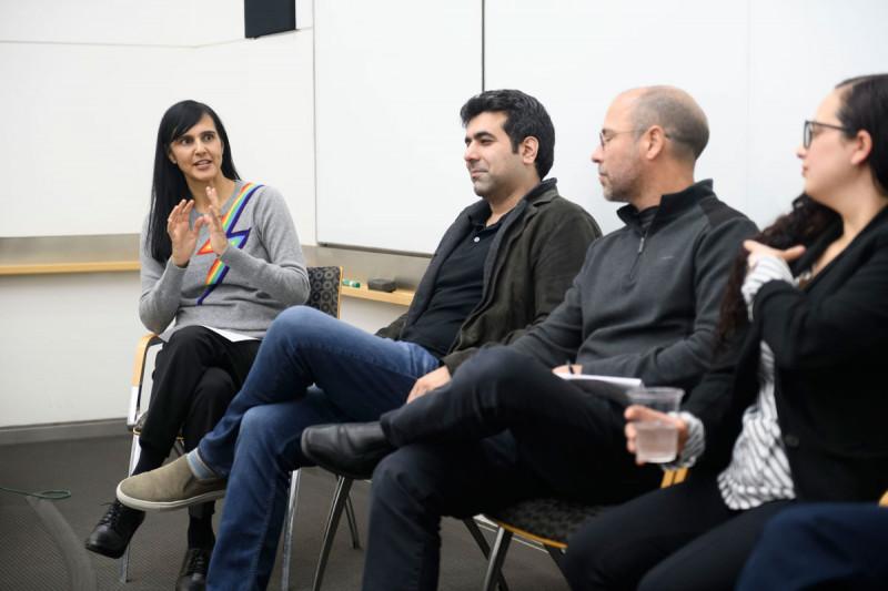 Ushma Neill, Kayvan Keshari, Chris Lima, and Yael David
