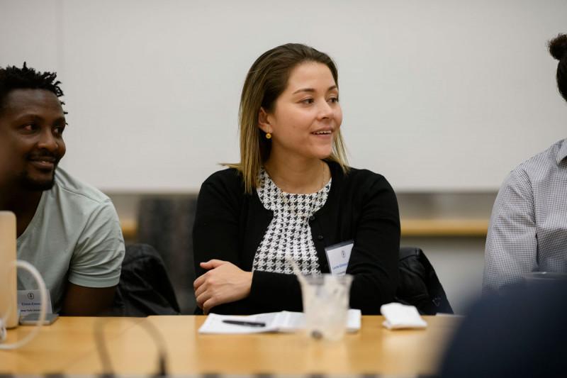 Edwin Kamau (NYU) and Laura González-Fajardo (University of Connecticut)