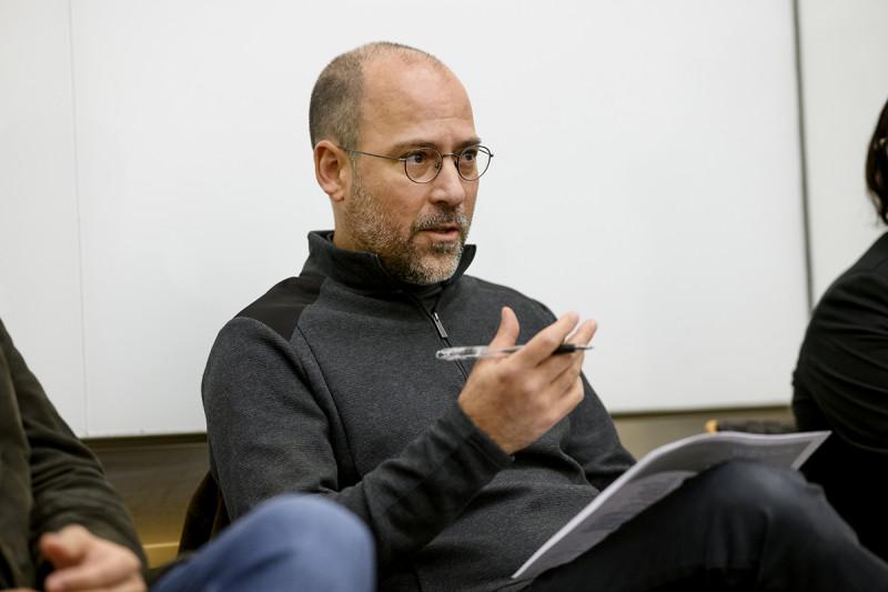 Structural biologist Christopher Lima