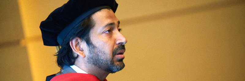 Pulitzer Prize-winning Author Siddhartha Mukherjee Addresses 2013 Graduates