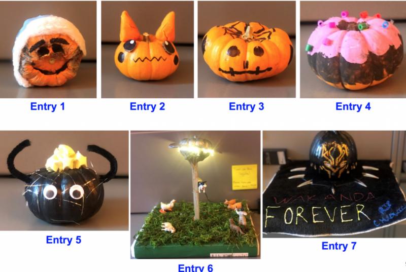 Halloween Pumpkin Contest 2020