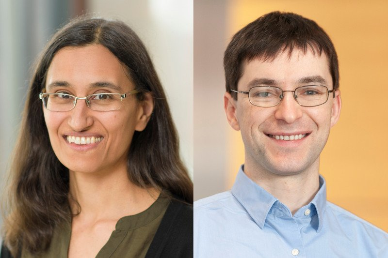 MSK computational biologists Christina Leslie and Yuri Pritykin