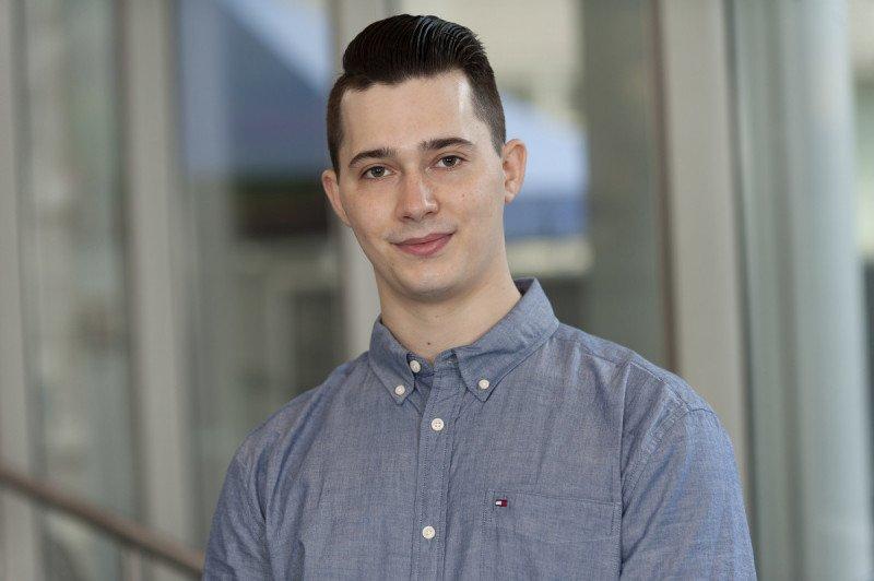 Jake Sauter,  WCM Graduate Student