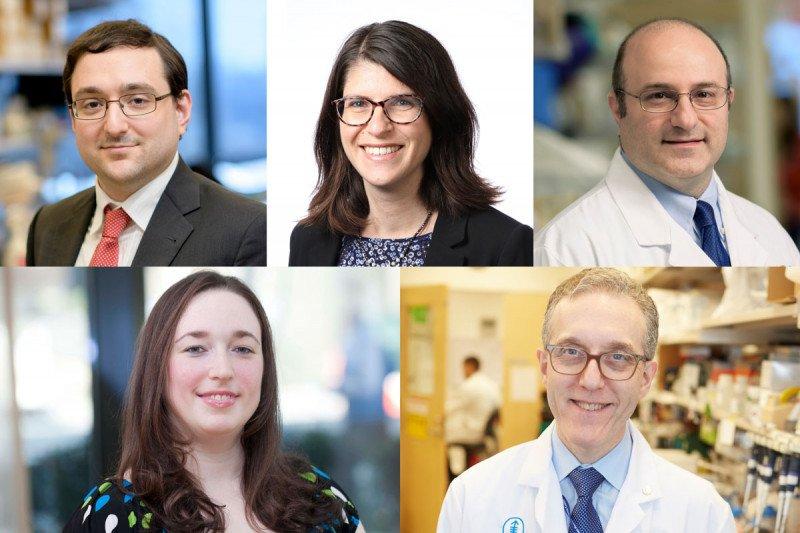 Five MSK researcher headshots