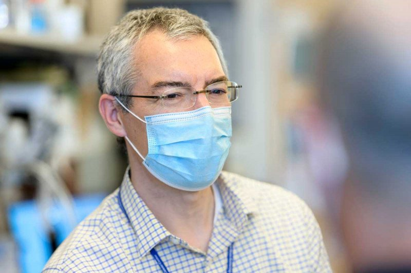 SKI immunologist Michael Glickman