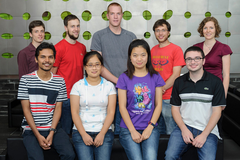 Pictured: 2014 First-Year PhD Students