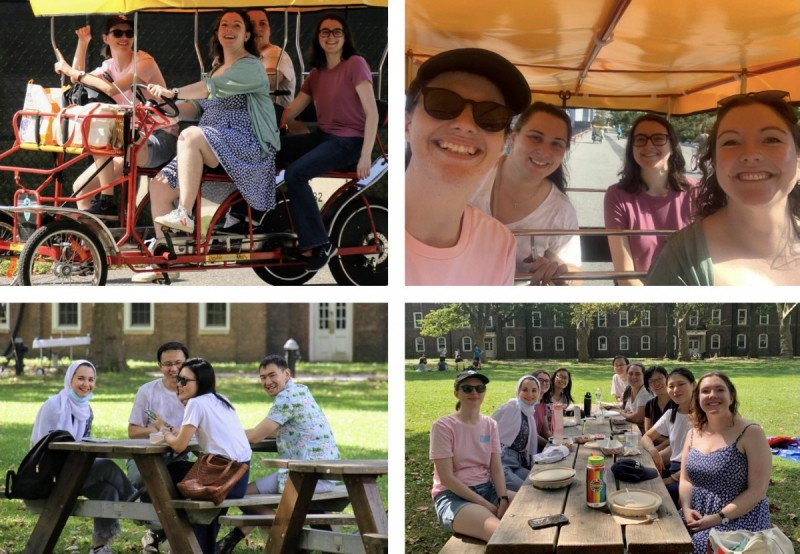 Fun lab outing to Governor's Island
