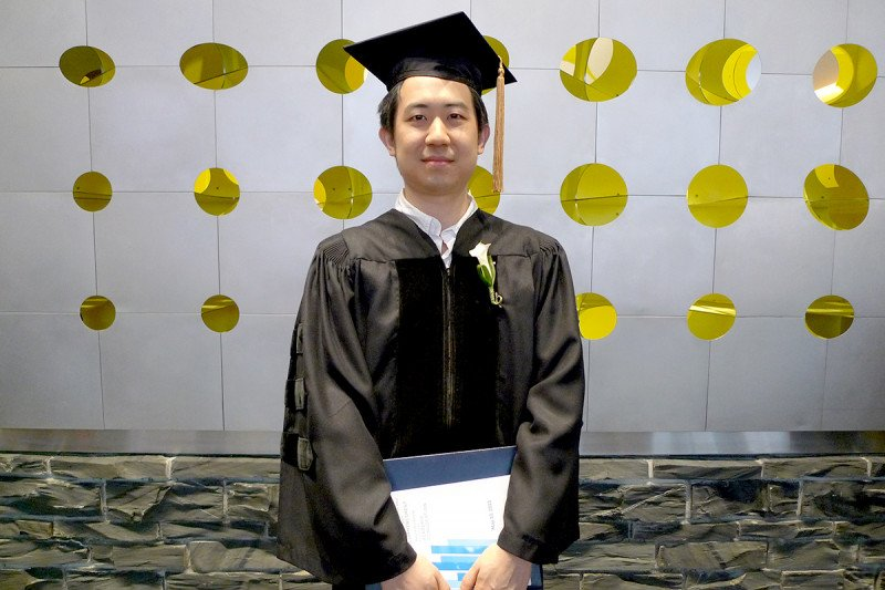 Jeff received his PhD, congratulations!