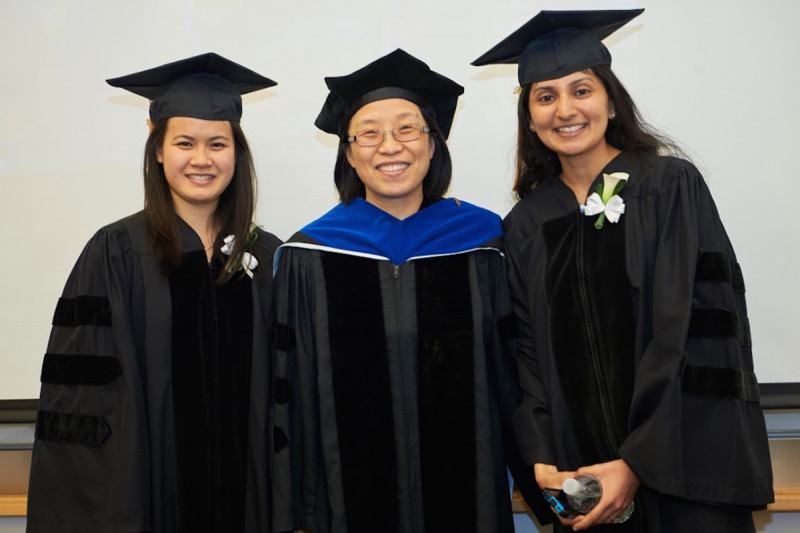 Drs. Huang and Sarangi, we are so proud of you!