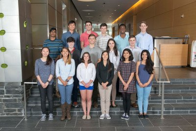 GSK's 2016 Summer Undergraduate Research Program Begins