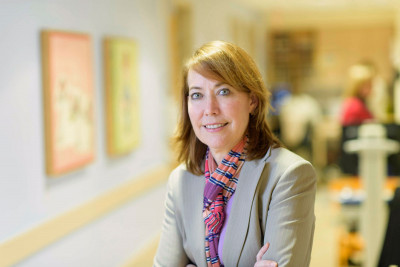 MSK pediatric oncologist and neuroblastoma expert Kim Kramer