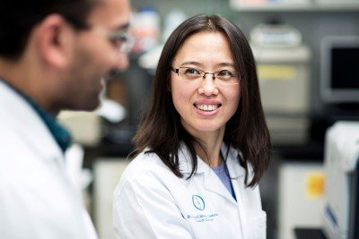 MSK cell manufacturing specialist Xiuyan Wang