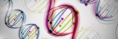 Illustration of DNA strands