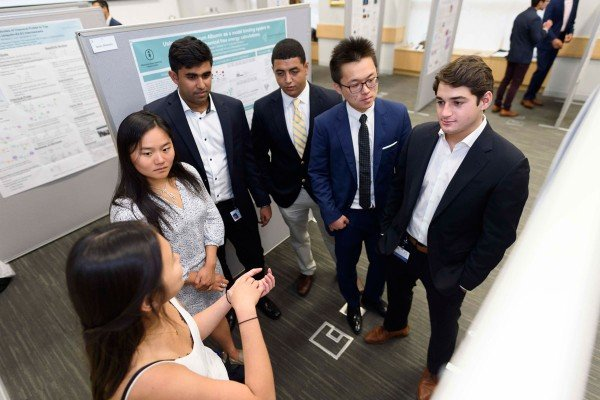 participants of msk summer undergraduate research program