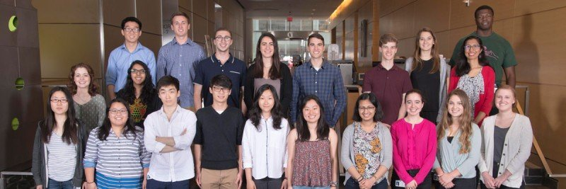 The 2017 Summer Undergraduate Research Program class.