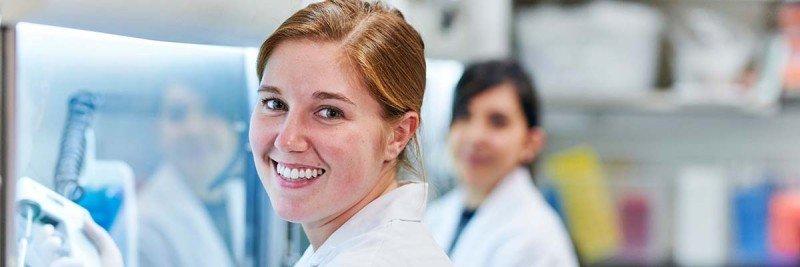 PhD graduate student Sara Schad