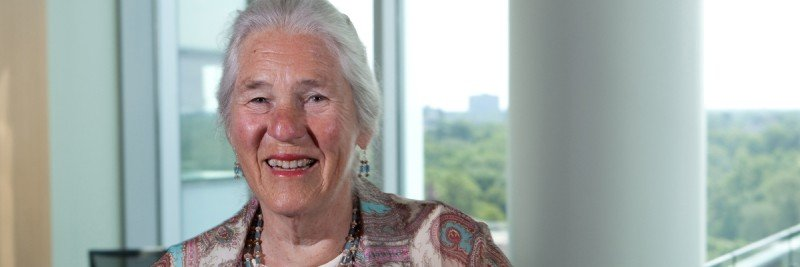 Cancer research pioneer Janet Rowley